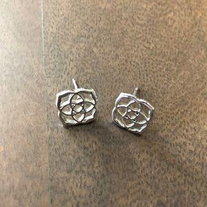 Kendra Scott Dira Silver Earrings